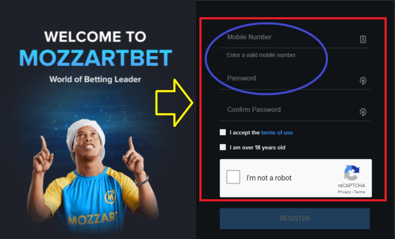 Mozzart Bet Kenya Registration