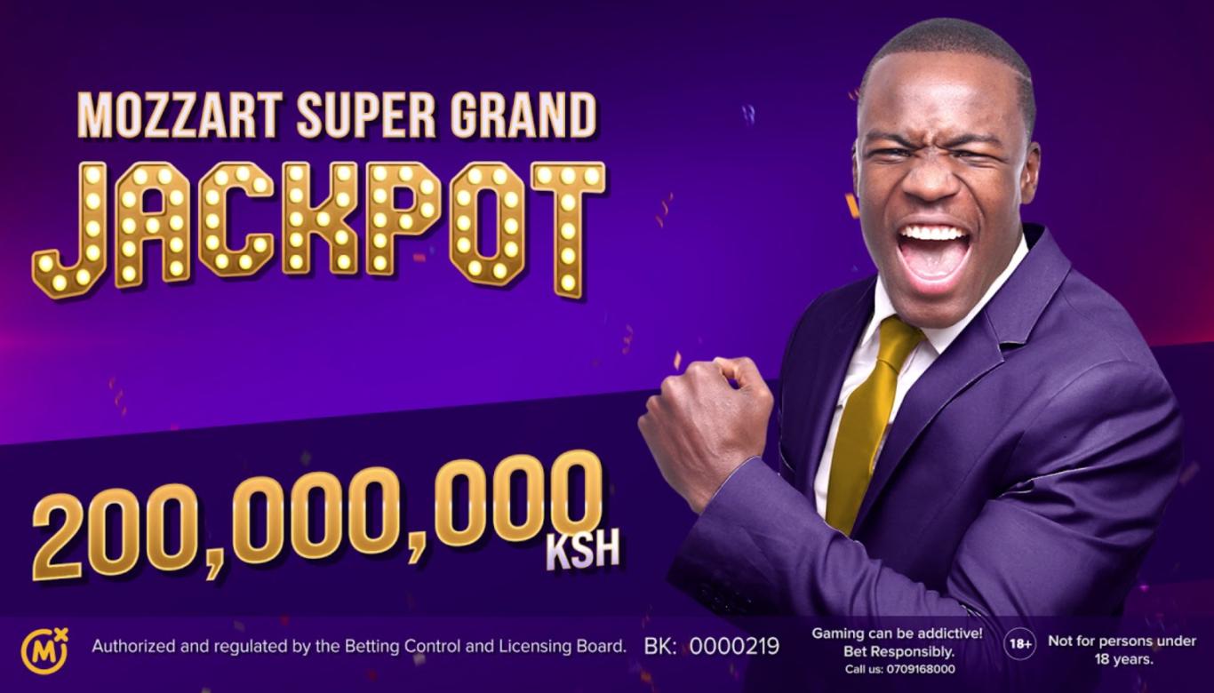 Mozzart bet Kenya jackpot bonus